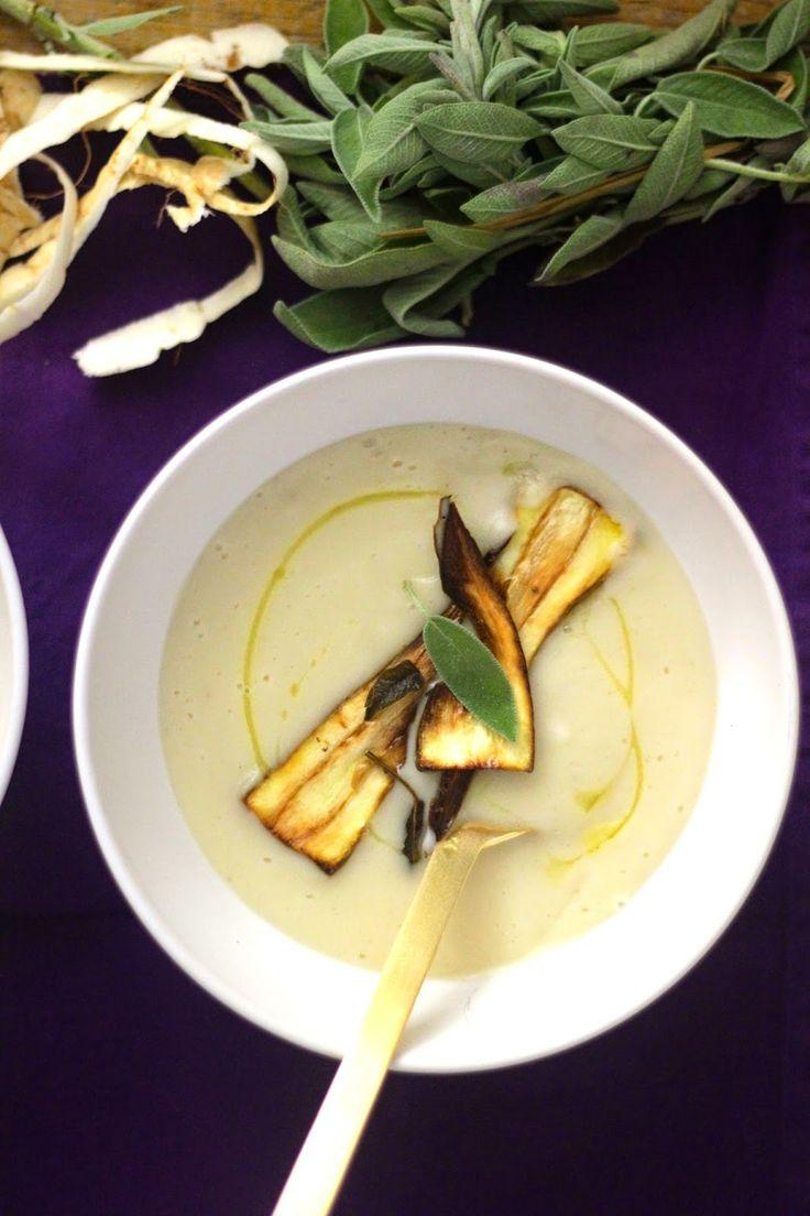 As Minhas Receitas: Sopa de Pastinacas, Feijão Branco e Salva