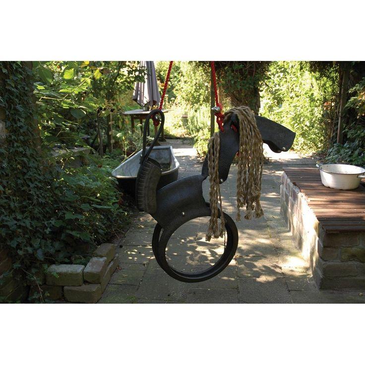 So cool!!! Esschert Design Kinderschommel Paard