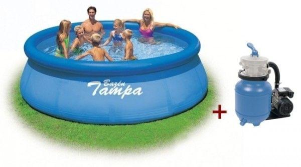 Bazén Tampa 4,57x1,22 s pískovou filtrací ProStar 3 - Kliknutím zobrazíte detail obrázku.