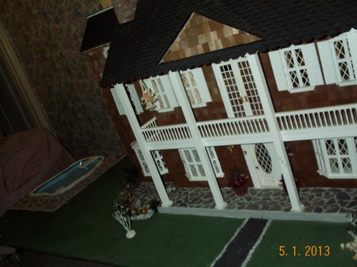 76 Best Dollhouses Tan Gray Images On Pinterest Doll