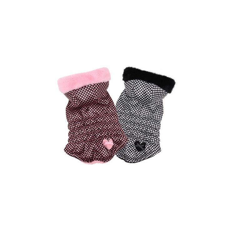 CHALECO TOPOS CON CAPUCHA, una prenda muy calentita y cómoda de la firma Pinkaholic, con forro polar y capucha desmontable. http://bit.ly/1NpZrdG
