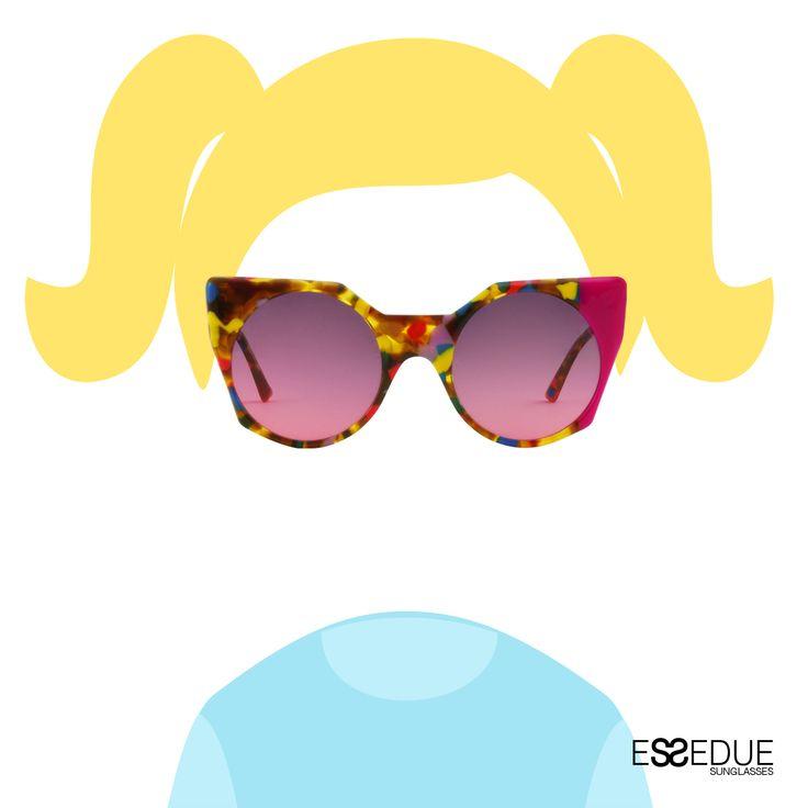 Colors ESSEDUE Teen Capsule  #essedue #esseduesunglasses #sunglasses #teencapsule #teenager #eyewear #madeitaly