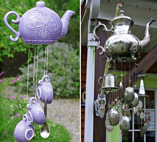 How To Make A Teapot Wind Chime For Your Home | The WHOot