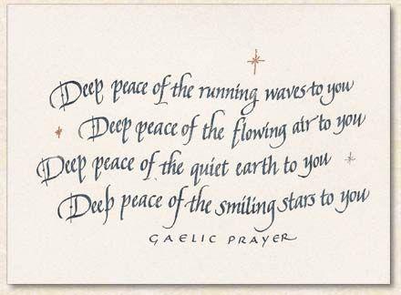 Gaelic prayer - Gaelic Blessing - John Rutter