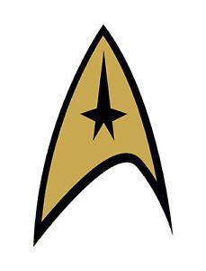Encadree-Imprimer-insigne-de-Starfleet-Star-Trek-Enterprise-science-fiction-picture