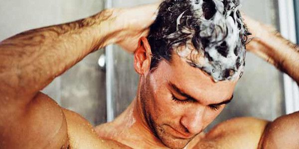 A guide on hair care for men - including tips on how to prevent mens hair loss, hair thinning in men, shampoo