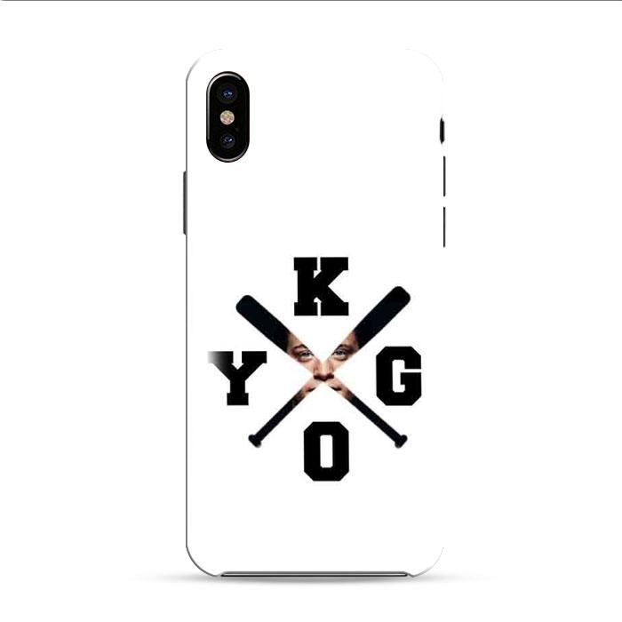 Kygo Logo Photo Masking iPhone X 3D Case