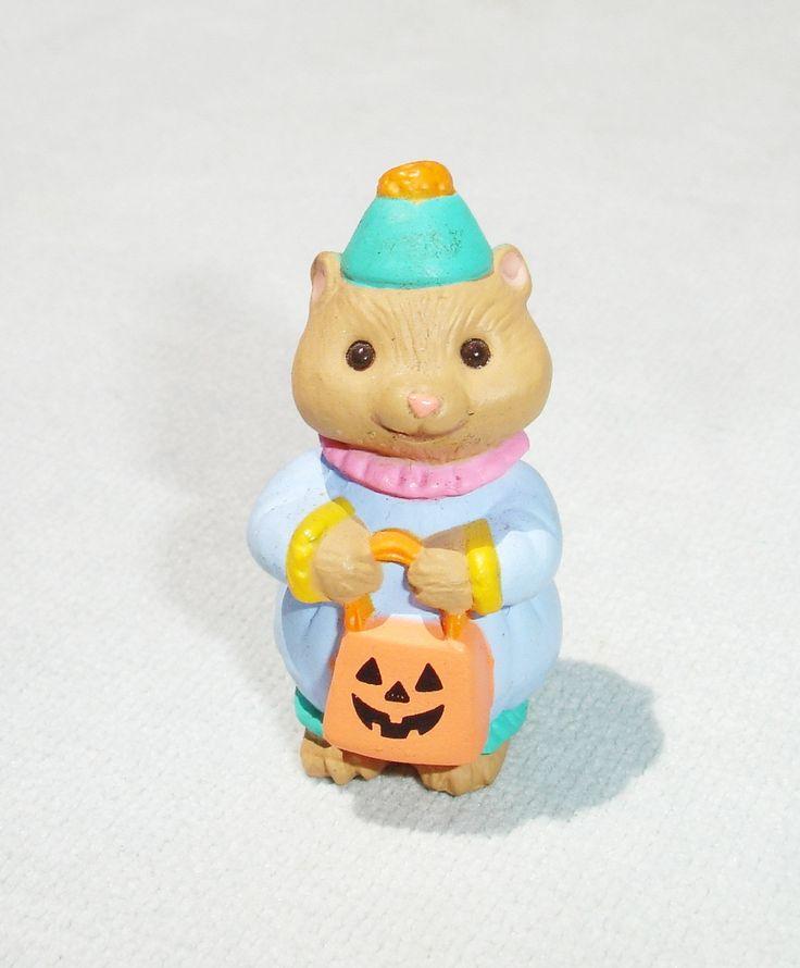 1994 Halloween Costume Animal Merry Miniature - Hallmark Greeting Card Collectible