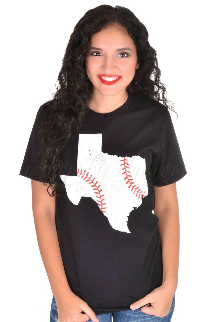Texas Baseball Tee