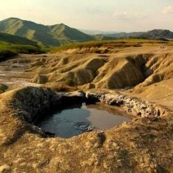 The amazing Romanian Muddy Volcanoes from Berca, Buzau/ Vulcanii noroiosi de la Berca, Buzau, Romania    If you love nature, geology, spectacular...