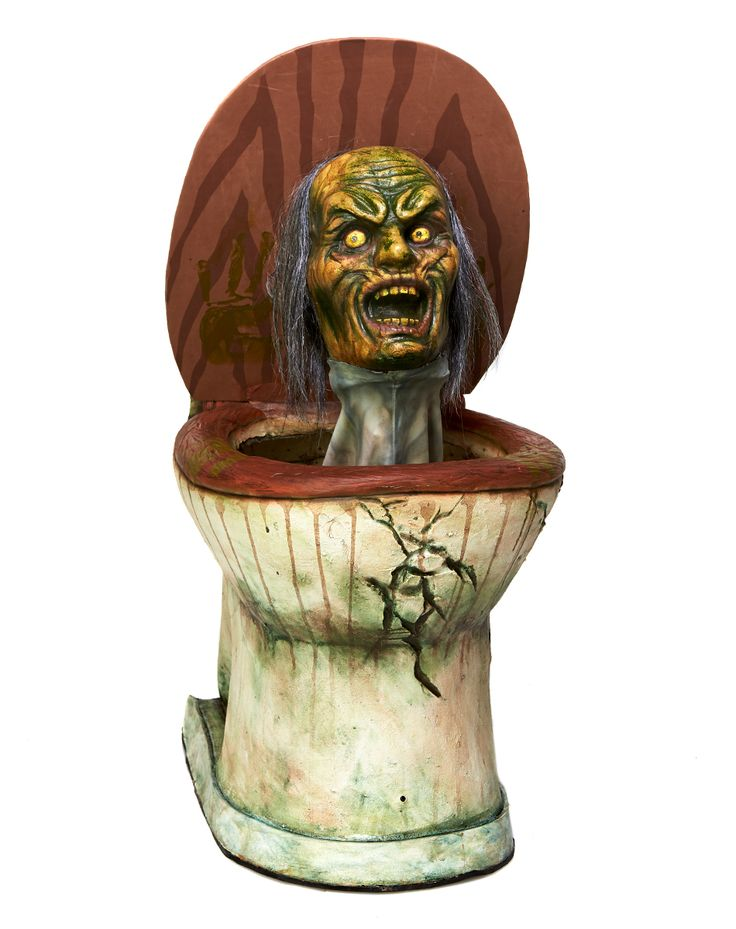 pop up zombie toilet exclusively at spirit halloween no one will ever want to - Spirit Halloween Decorations