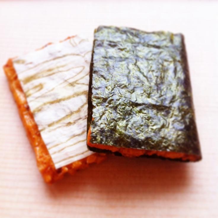 Okaki おかき (Japanese rice crackers) MIKIYA Inc. 三喜屋 :Photo by Hideki Tazawa