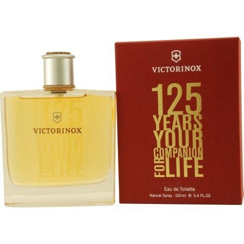 VICTORINOX 125 YEARS by Victorinox EDT SPRAY 3.4 OZ by VICTORINOX 125 YEARS. $40.59. Save 19%!