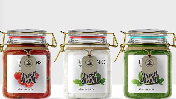 29 Jar Mockup Templates Jar Mockups Free Download Jar Clear Glass Jars Glass Jars