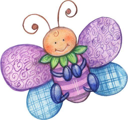 Mariposas Para Imprimir Colores Imagui
