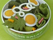 Salat  Kinderküche