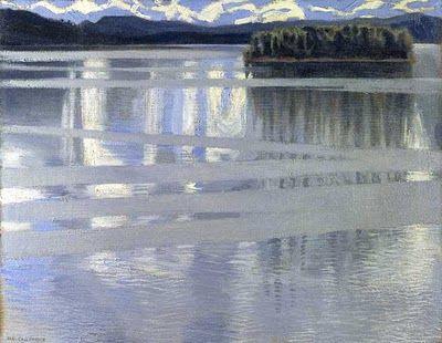Akseli Gallen-Kallela - Lake Keitel, 1905