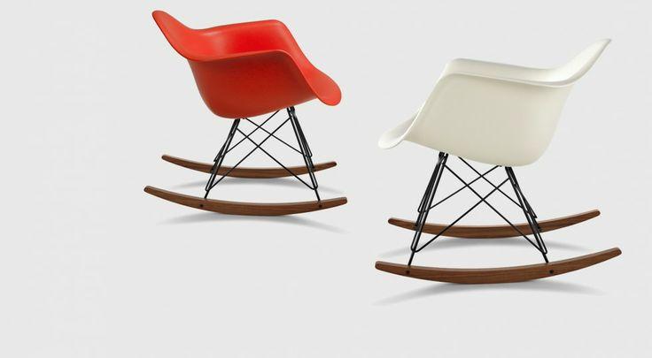 Eames® Moulded Plastic Rocking Chair (RAR) - Living Edge