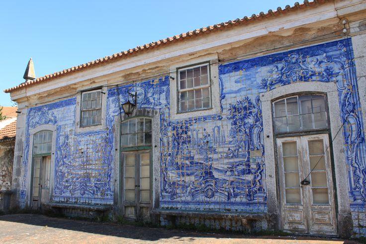 Caxias, Paço Real [photo: Miguel Martins] #coquillage #blueandwhite #azulejo #frame #collaborativetimeline