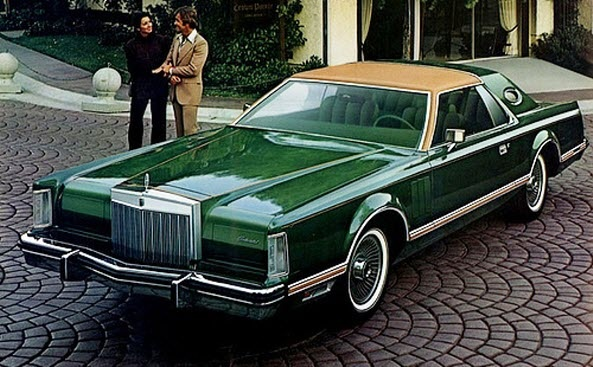 1977 Lincoln Mark V Givenchy Edition.