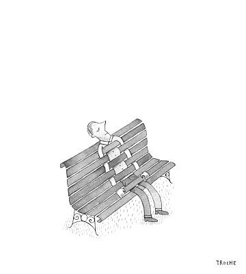 Descansant. Un dibuix del gran Troche-Having a rest. Illustration from Troche