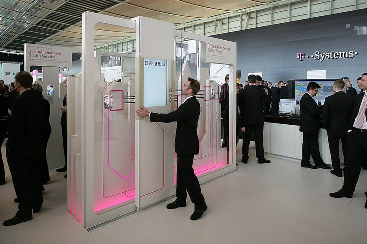 exhibition design and interactive installation for the Deutsche Telekom…