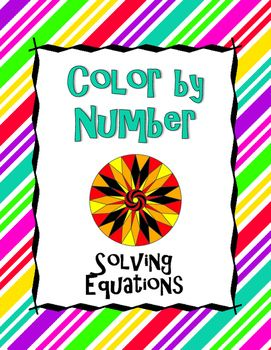 40 best Equations images on Pinterest  Solving equations Math
