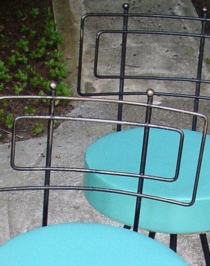 I need these stools!  :)Mod Swivel, Pairings Turquoise, Fab Vintage, Swivel Stools, Colors, Fab Mod, Midcentury, Living Vintage, Century Modern