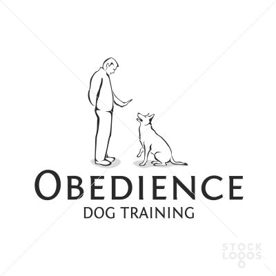 Logo designed for a dog behaviourist, who is helping dog's owner to train their pets to be more obedient