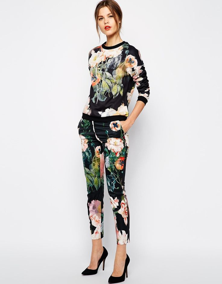 Ted Baker sweatshirt and trousers from asos.com