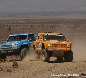 Radelet Jean Jacques et Jean Louis Schlesser au 24 Heures du Maroc 2013
