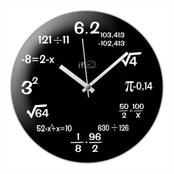 iF Clock Matematik Duvar Saati
