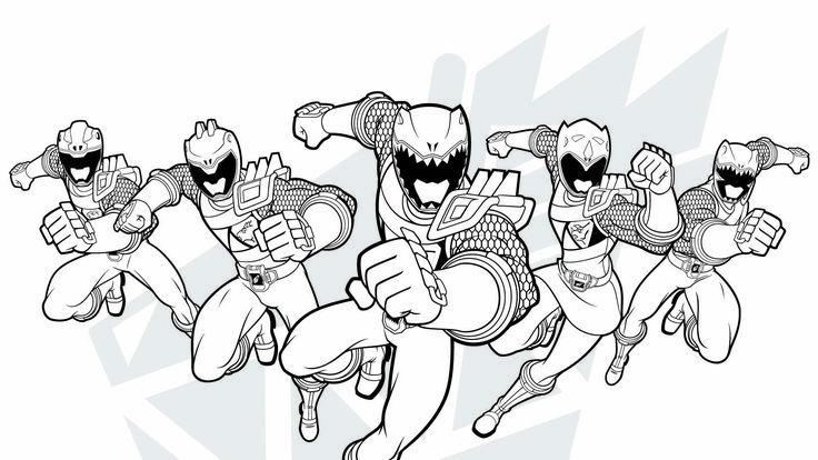 Resultado De Imagem Para Desenho Para Pintar Power Ranger