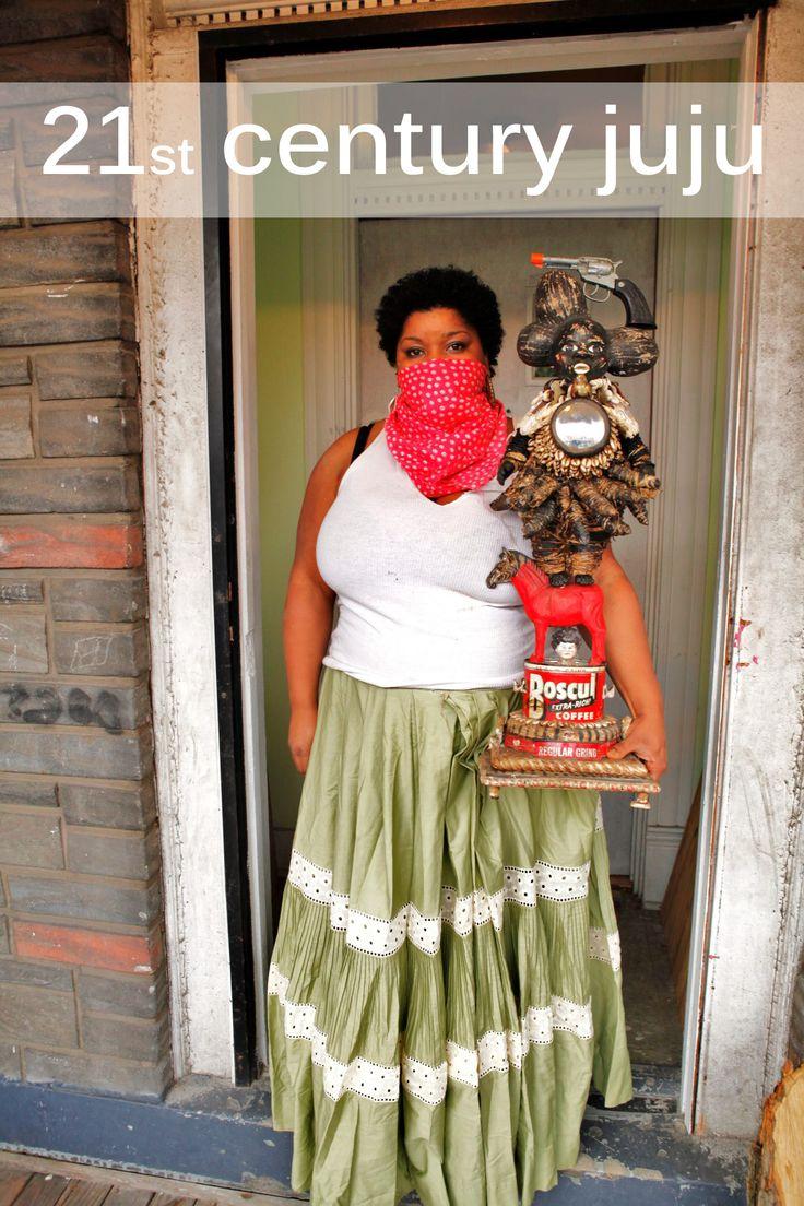 21st Century Juju Vanessa German artist performance
