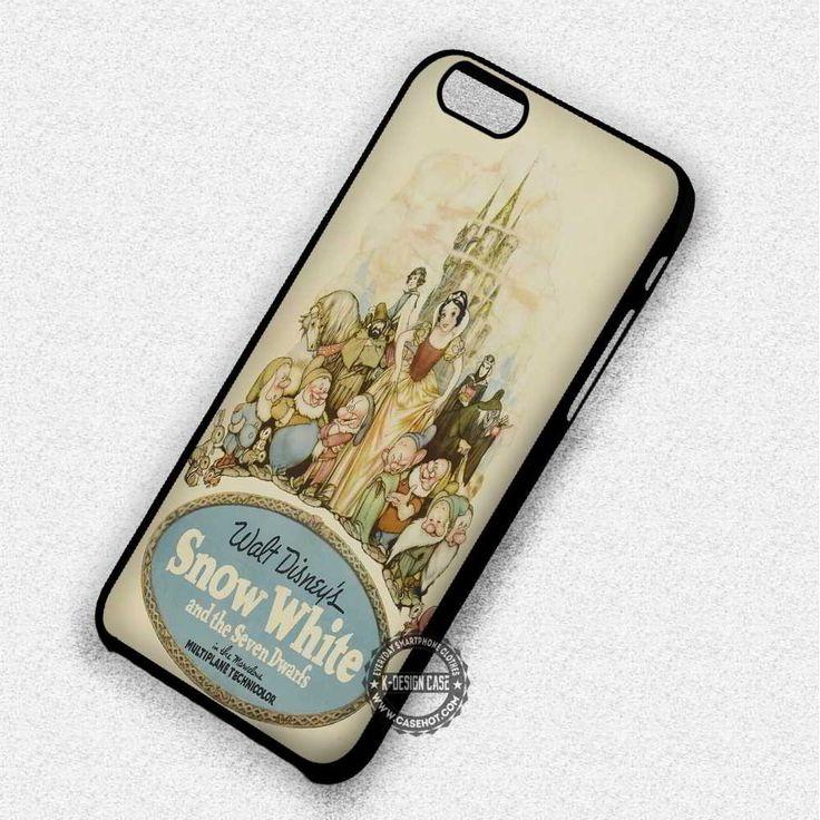Vintage Poster Snow White - iPhone 7 6 Plus 5c 5s SE Cases & Covers