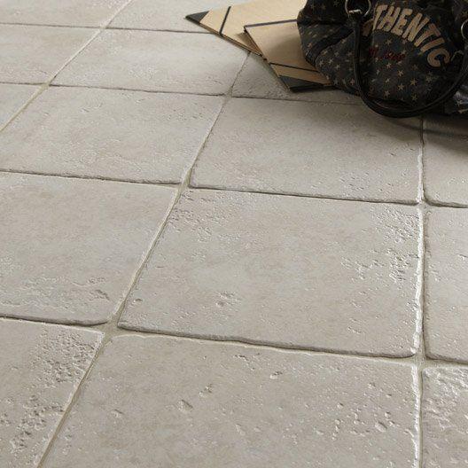 Carrelage int rieur toscane artens en gr s blanc 32 5 x for Carrelage artens