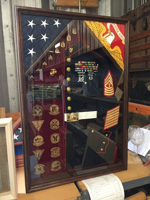 Pin On Health: Military Uniform Shadow Box (FREE SHIPPING Lower 48 States