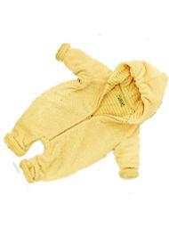 Готовая выкройка детского комбинезона с капюшоном - размеры на возраст от 2 до 6 лет