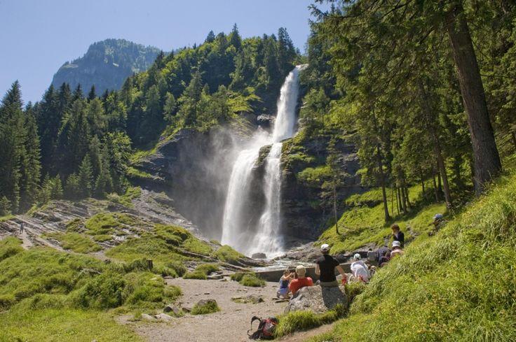 Cascade du Rouget, la Reine des Alpes à Sixt