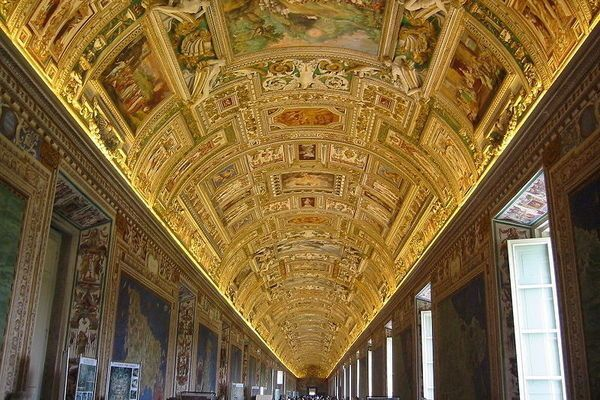 Gallery of Maps, Vatican City http://www.atlasobscura.com/places/gallery-of-maps-galleria-delle-carte-geografiche