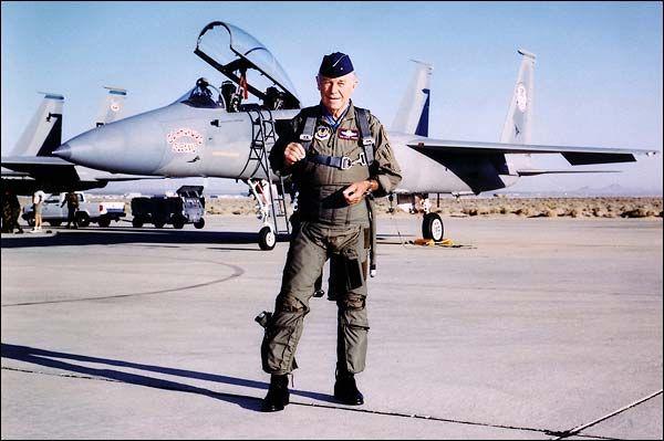 Gen. Chuck Yeager - An American Hero.