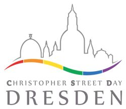 CSD Dresden e.V. - 24.5.-1.6.  Motto: 100% Mensch. Ohne Wenn und Aber!