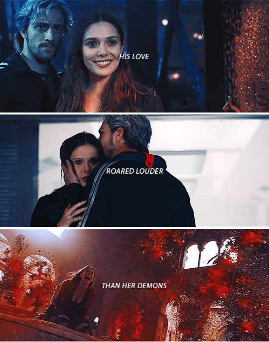 His love roared louder than her demons #marvel