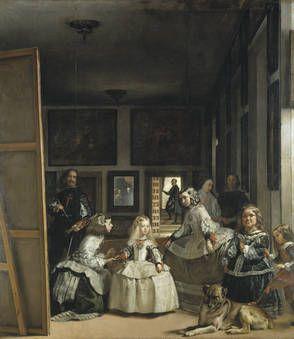 """Diego Rodríguez de Silva y Velázquez, """"Las meninas o La familia de Felipe IV"""", 1656, óleo sobre lienzo, 318 x 276 cm"""