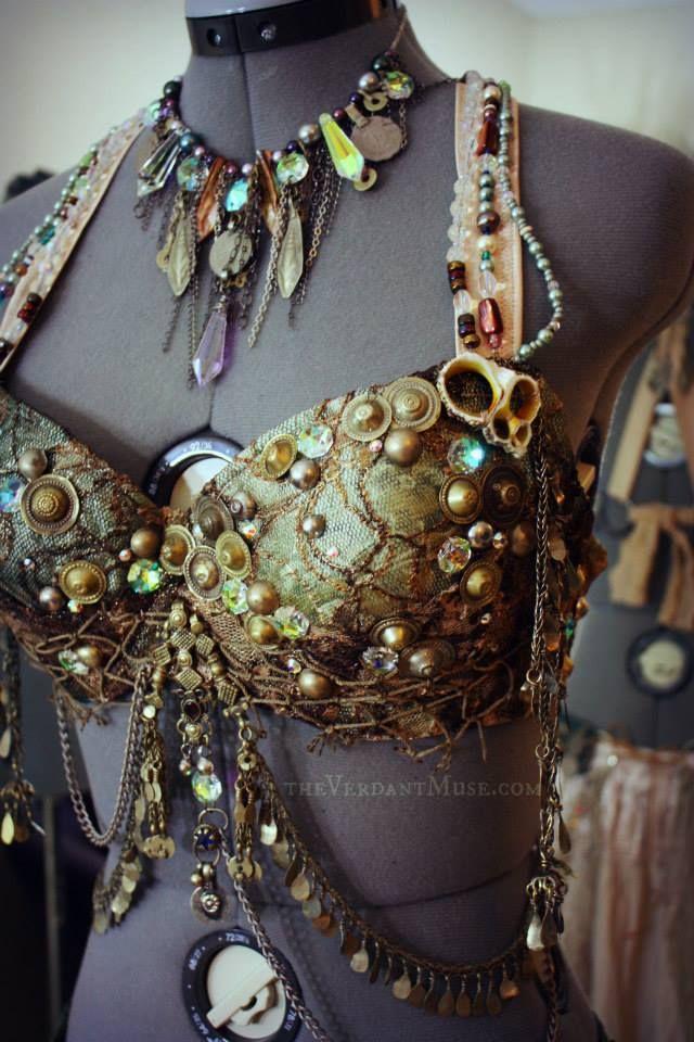 Siren Queen bra by the Verdant Muse