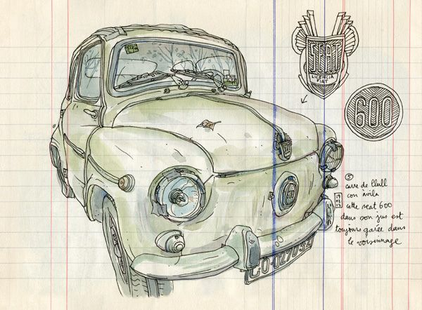 seat 600 by lapin barcelona, via Flickr
