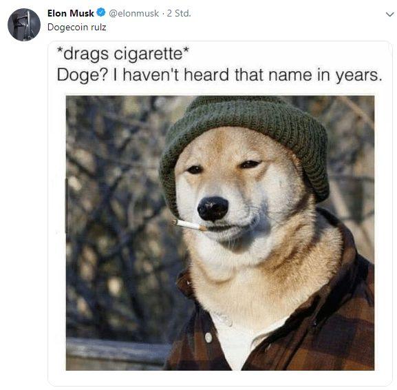 Ein paar Jahre später Doge …   – LOL