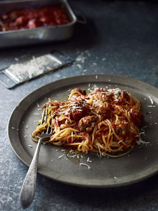 I already make the best spaghetti & meatballs but this would be fun to try