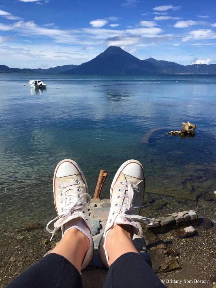 Lake Atitlan, Panajachel, Guatemala