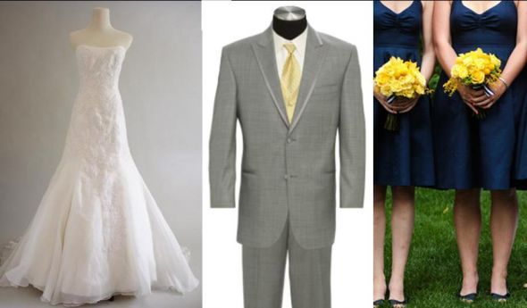 Ideas for the groomsmen to complement the bridesmaid dresses